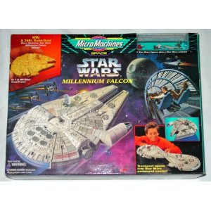 Star Wars Millennium Falcon Command Center Playset by Galoob Micromachines (Toy, new)