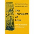 The Transport of Love : Leonard Nathan (Hardcover, 1977), used
