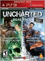 UNCHARTED DUAL PACK (DRAKE, UNCHARTED 2 AND DRAKE DECEPTION DLC ) (F) (Video Games*, new)