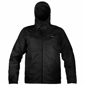 Gage Weather Watch 300-420D Waterproof Breathable Hooded Jacket-Black
