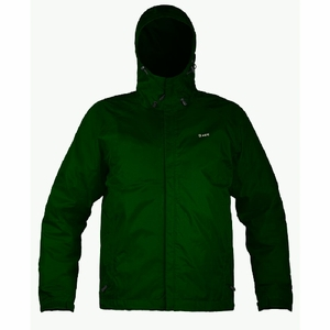 Gage Weather Watch 300-420D Waterproof Breathable Hooded Jacket-Green