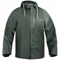 Grundens Brigg 44 Hooded Jacket W/Built-in Neoprene Cuffs PVC/Cotton