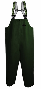 Grundens Clipper 116 Bib Pants PVC/Cotton -Green