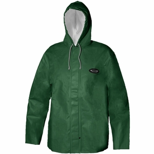 Grundens Clipper 82 Parka Hooded Jackets PVC/Cotton -Green