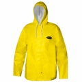 Grundens Clipper 82 Parka Hooded Jackets PVC/Cotton -Yellow