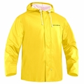 Grundens Petrus 82 Parka Hooded Jackets PU/Poly -Yellow