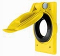 Hubbell HBL74CM25WOA Yellow Lift Cover for 26CM10