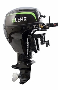 LEHR Propane Marine Outboard Engine-9.9HP- Long Shaft Electric Start