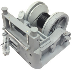 Working Electric Towing Winch