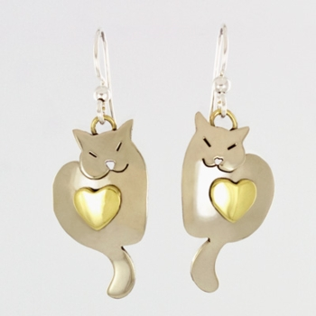 Sweet Dreams Kitty Earrings
