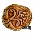 29x27mm Bone Focal Bead (Butterfly)