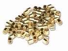 2x2mm Gold Filled Crimp Beads 1000 pcs. - Special Price