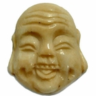 33x28mm Bone Focal Bead (Buddha Head)