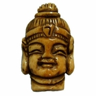36x22mm Bone Focal Bead (Buddha Head)