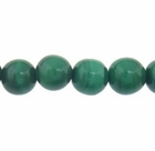 3mm Malachite Round Semi Precious Beads