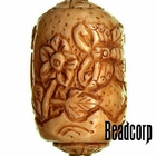 42x27mm Bone Focal Bead (Butterfly)
