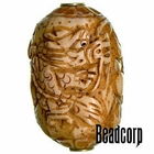 42x27mm Bone Focal Bead (Dragon)