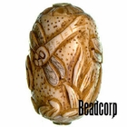 42x27mm Bone Focal Bead (Dragon Fly)