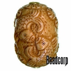 42x27mm Bone Focal Bead (Fish)