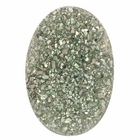 Grey Yellow Oval Druzy Cabochon