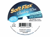 Soft Flex Beading Wire 30' spool