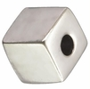 Sterling Silver Cube Beads