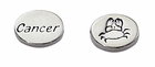 Sterling Silver Message Bead - Cancer