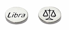 Sterling Silver Message Bead - Libra