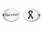Sterling Silver Message Bead - Survivor