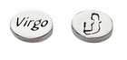 Sterling Silver Message Bead - Virgo