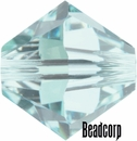 Swarovski 5301 / 5328 Bicone Beads - Light Azore