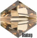 Swarovski 5301 / 5328 Bicone Beads - Light Colorado Topaz