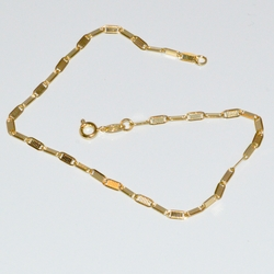 1-0056-D1 Alternative Gucci Link Anklet