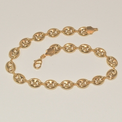 1-0105-e1 Puff Gucci Link anklet