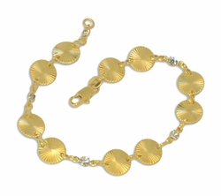 1-0573-D1 Ladies Circles Bracelet