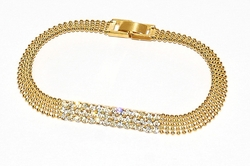 1-0612-D1 Crystal Studed Bracelet