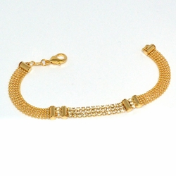 1-0652-1-D1 Ladies Crystal Studed Bracelet