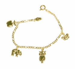 1-0800-D1 Little Girls Bracelet