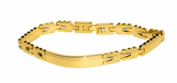 1-0868-D1 Ladies ID Bracelet