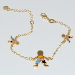 1-0929-D1 girls Kid Charms Bracelet