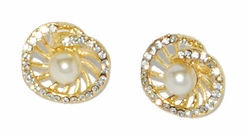 1-1050-D1 Pearl Earrings