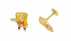 1-1155-D1 Baby Sponge Earrings