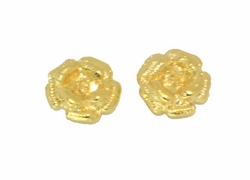1-1179-D1 Rose Flower Earrings