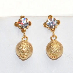 1-1195-D5 Crystal Earrings