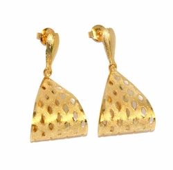 1-1198-D2 Ladies Brazilian Style Earrings
