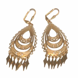 1-1233-D1 Gypsy Earrings (Gitana)