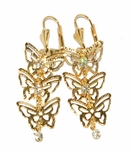 1-1237-D3 Butterfly Earrings