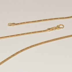 1-1690-e1 Gold Plated Spotted Snake Chain