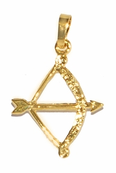 1-2150-D1 Bow and Arrow Pendant