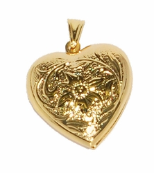 1-2286-D2 Heart Locket